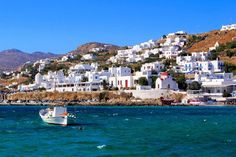 Visiting Greece in Condé Nast Traveller reveals the 23 best Greek Islands to visit, including Santorini, Crete, Mykonos, Corfu and Rhodes Greek Islands To Visit, Best Greek Islands, Greece Islands, Santorini, Mykonos Greece, Paros, Best Beaches In Sardinia, Places In Europe, Most Beautiful Beaches
