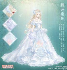 Love Nikki Wedding Dress Luxury Wedding Dress Up Anime – Fashion Dresses Dress Drawing, Drawing Clothes, Anime Chibi, Manga Anime, Anime Outfits, Girl Outfits, Pretty Outfits, Beautiful Outfits, Kleidung Design