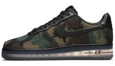 NIKE AIR FORCE 1 LOW MAX AIR VT QS [CAMO]