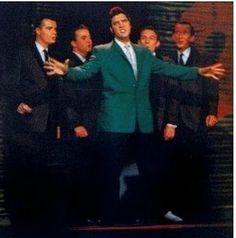 "Elvis & The Jordanaires on ""Ed Sullivan Show"""
