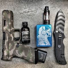 Awesome EDC and love seeing the Punisher Life Beard Oil in there.