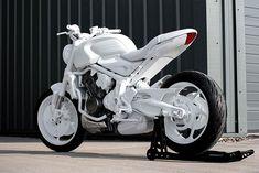 Triumph Trident Prototype | HiConsumption Ducati Motorcycles, Honda Cb750, Grey Vans, Rfid Blocking Wallet, Luxury Suv, Trident, Katana, Street Fighter, Marvel Movies