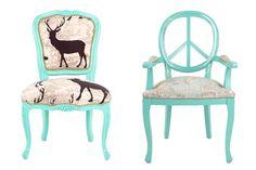 Diseño de autor: muebles reciclados a puro color