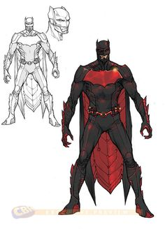 Concept art from the upcoming Justice League 3000 series. Batman 3000! I think it's impossible for Batman to like a pussy, no matter what the year.