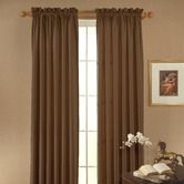 Found it at Wayfair - Clark Blackout Window Panel in Chocolate - ordered 6 panels