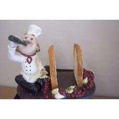 Fat French Italian Bistro Chef Napkin Holder Everything Else