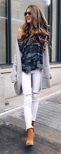 street style or how to wear white rips