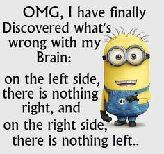 OMG, I have finally discovered what's wrong with my brain...