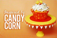 Candy corn-inspired crafts <3