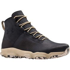 Under Armour - Speedfit Hike Leather Boot - Men's - Black/Black