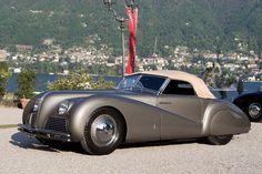 1940 ALFA ROMEO 6C 2500 SS SPIDER - by Pininfarina of Turin