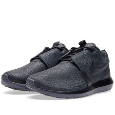 Nike Rosherun NM (Black, Dark Grey & Black)