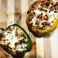 Good food always bring so much happiness to each and every face in your family and why not enjoy a gorgeous meal with your loved ones on a gorgeous Saturday with our Stuffed Feta Peppers. Avocado Egg, Vegetable Pizza, Feta, Good Food, Happiness, Stuffed Peppers, Meals, Breakfast, Morning Coffee
