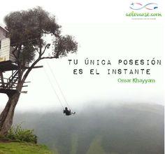 Somos el momento #Viajar #instante #meditacion www.letrasddviaje.com www.aelevarse.com