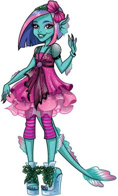Grimmily Anne McShmiddlebopper Monster High Illustration - Her character currently doesn't have a doll. Soirée Monster High, New Monster High Dolls, Monster High School, Monster High Birthday, Cartoon Monsters, Cool Monsters, Cartoon Art, Desenhos Halloween, Personajes Monster High
