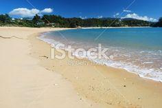 Little Kaiteriteri Beach, Tasman Region, New Zealand Royalty Free Stock Photo