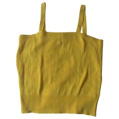 COURREGES Yellow Top