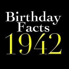 24 75th birthday invitations wording examples pinterest 75th birthday facts born in 1942 filmwisefo