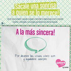Su sinceridad debería tener premio! Regálale esto! #Quiérete #Cyzone