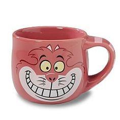 Cheshire Cat jumbo coffee mug @ fantasiescometrue.com