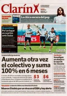 OpinionPublicaSantafesina(ops): diarios de la argentina 1 de julio