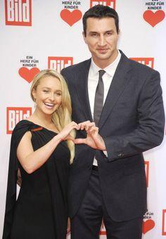 Hayden Panettiere is pregnant with her first child, with huge fiance Wladimir Klitschko