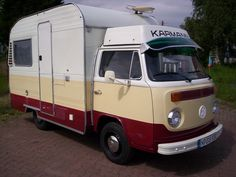 VW Camper made by Karmann