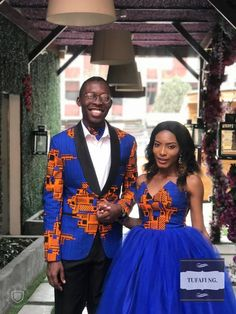 african prom ensemble ankara prom outfit prom couple couple dinner outfit couples ball ankara w Couples African Outfits, African Attire, African Men, African Dress, Dinner Outfits, Prom Outfits, Club Outfits, Wedding Outfits, Night Outfits