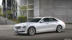 2017 Cadillac CT6 (Euro-Spec) - Front Three-Quarter - Picture # 3