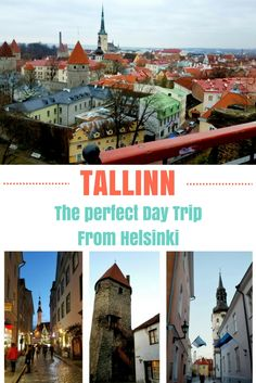 Looking for a day trip from Helsinki? Look no further, the charming medieval town of Tallinn, Estonia is calling your name.