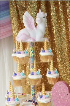 Unicorns Birthday Party Ideas | Photo 1 of 10