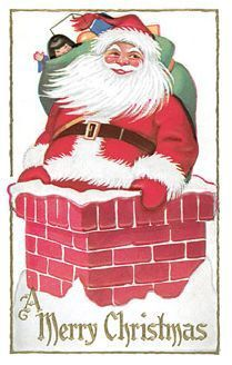 Show them some love… quick as Santa sliding down the chimney! Vintage Santas, Christmas Images, Thrifting, Recycling, Card Making, Merry, Holiday, Cobbler, Dessert