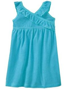 Loop-Terry Ruffle Dress/Cover-up - $12 @ Old Navy