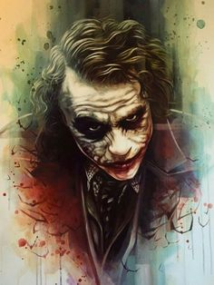 Awesome work by Ben Jeffery - Artist Le Joker Batman, Der Joker, Heath Ledger Joker, Joker Art, Joker And Harley Quinn, Joker Iphone Wallpaper, Joker Wallpapers, Joker Images, Joker Pics