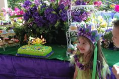 A Pixie Hollow Garden Birthday Party|Magical Day Parties | A Fan Site Celebrating Disney Themed Events