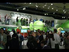 De paseo por el estand de Android en el Moblie World Congress 2012