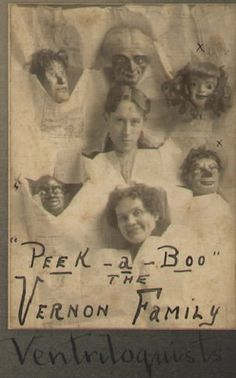 Vintage ventriloquism portraits - so creepy!