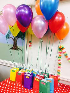 Simple b-day giveaways for kids