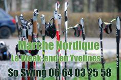 Marche Nordique le week-end en Yvelines...  http://www.marche-nordique-yvelines.com/seances-week-end.html