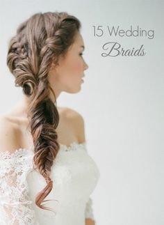 15 Wedding Braids. Photo by Jemanci Photography