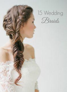 15 Wedding Braids. Photo by Jemanci Photography