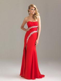 Vestidos rojos largos | Estilo y Belleza