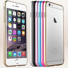 DF® Arc-shaped Aluminium Metal Bumper  Frame for iPhone 6 (Assorted Colors) – EUR € 3.99
