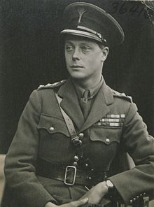 1894 -1972 Edward VIII King of the United Kingdom and the British Dominions, Emperor of India. son of George V and Mary of Teck. He married Wallis Warfield. Edward VIII abdicated his throne to marry her.