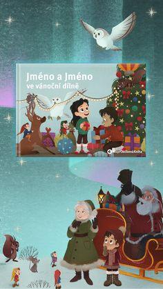 ❄️🦌🛷 Vypravte jednoho, či dva pomocníčky do vánoční dílny! 🤶🏻🎅🏻 Back To School, Lassi, Children, Christmas, Movie Posters, Stuff To Buy, Advent, Film, Store