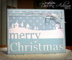 Blue Christmas by darleenstamps - Cards and Paper Crafts at Splitcoaststampers