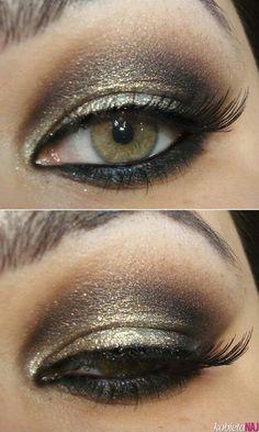 Nice makeup....