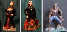 Vampire, Werewolf, Monster Man for mold making. Make Your Own, Make It Yourself, How To Make, Mold Making, Metal Casting, Werewolf, Miniatures, Painting, Art