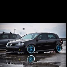One of my favorite MKV GTI's.