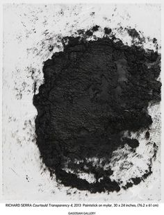 Richard Serra: Drawings for the Courtauld | Art & Culture | HUNGER TV